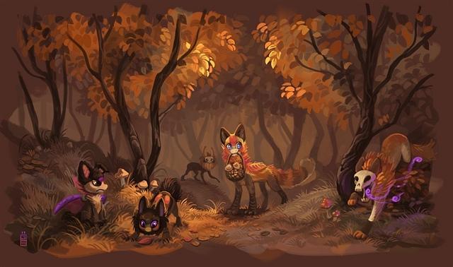 可爱动物儿童画大全 可爱的动物儿童画 可爱动物头像简笔画