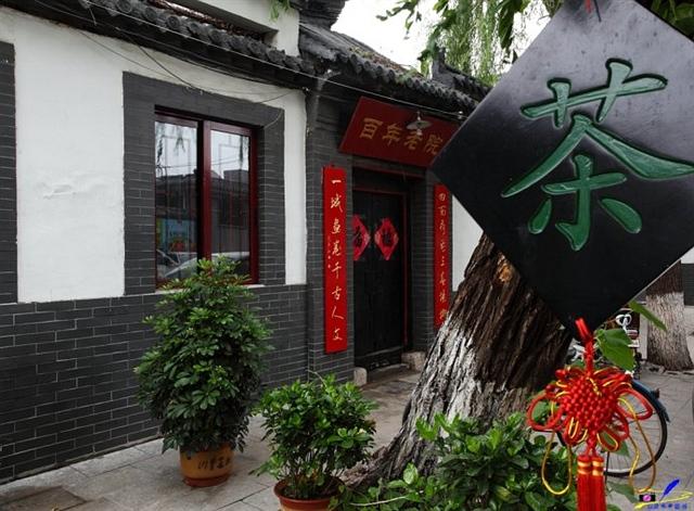 济南泉水老街的悠闲生活