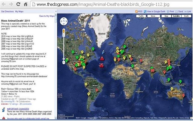 附件:全球动物规模死亡事件分布